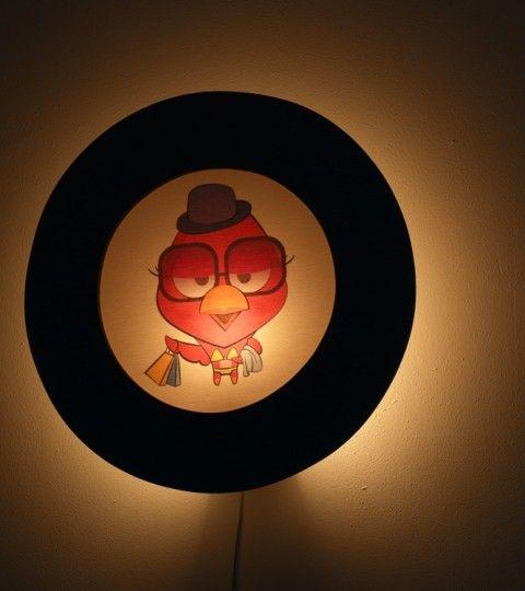 Nacht Kinderlampen Wandlamp Lilly Thebirdfamily 001 WEB