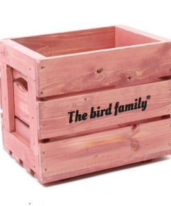 Deco krat The bird family® roze