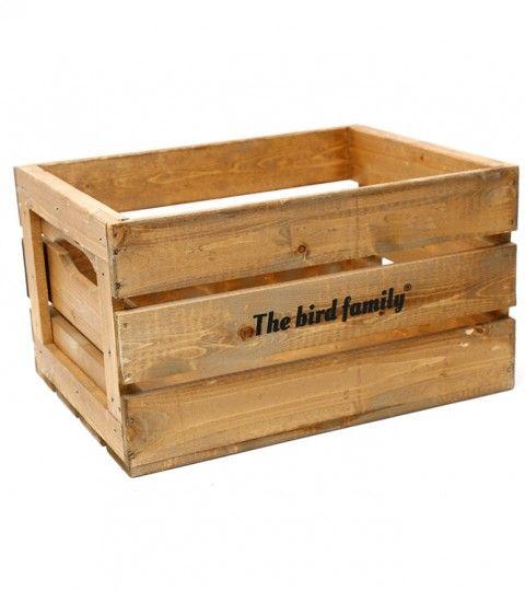 Deco Krat Groot The Bird Family® Bruin