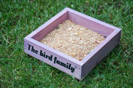 Vogelmuesli voederplateau