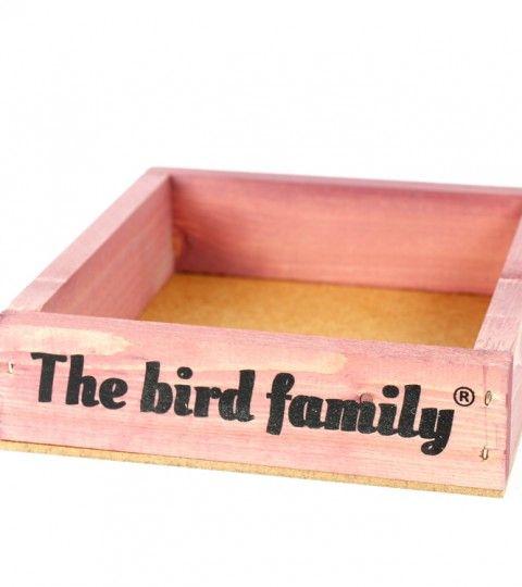 Voederplateau The Bird Family Roze